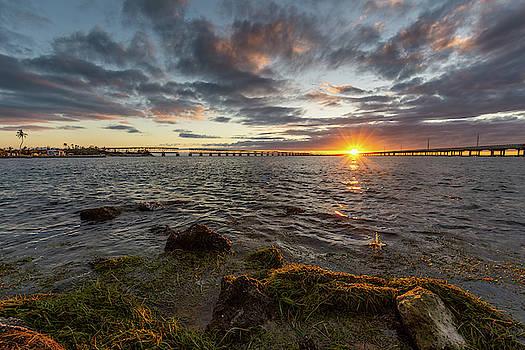 Bahia Honda Sunset by David Hart