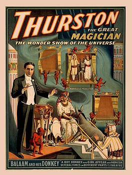 Vintage poster - Thurston the Magician by Vintage Images