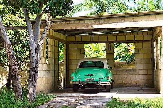 Paul Rebmann - 52 Chevy in Carport