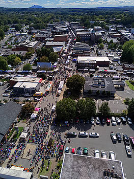 52nd Annual Autumn Leaves Festival by ADA Drone