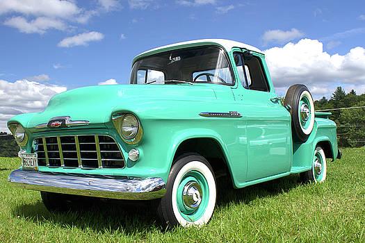56 Chevy Truck by Rik Carlson