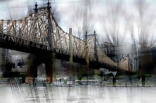 59th Street Bridge Abstract 2 by Jeff Watts