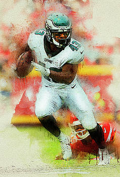 Darren Sproles. Philadelphia Eagles. by Nadezhda Zhuravleva