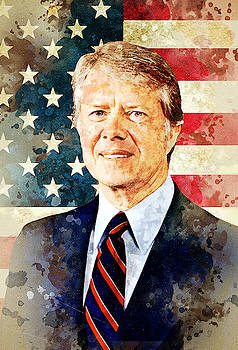 Jimmy Carter by Elena Kosvincheva