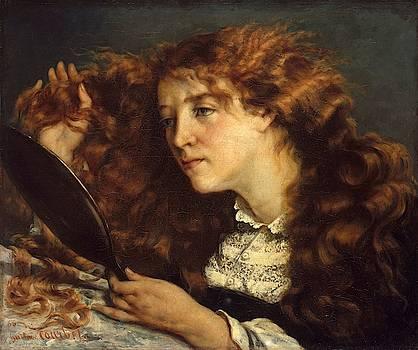 Jo La Belle Irlandaise by Gustave Courbet