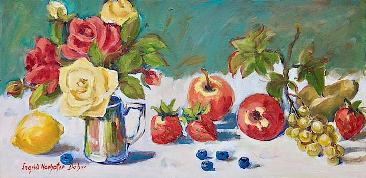 Floral Still Life by Ingrid Dohm