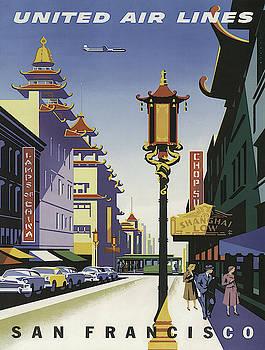 Vintage poster - San Francisco by Vintage Images