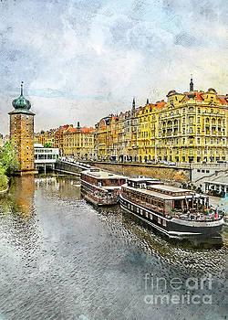 Praha city art by Justyna JBJart