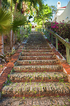 Us Virgin Islands, St Thomas Charlotte by Walter Bibikow