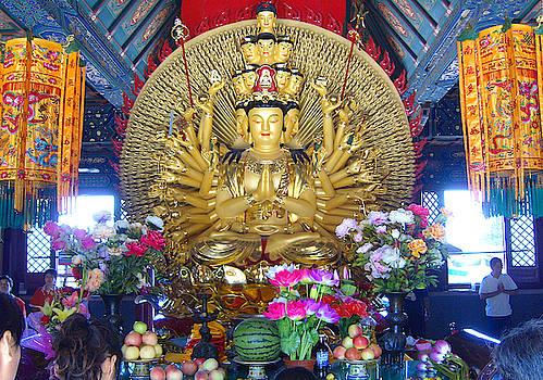 Beautiful Buddhist temple photograph by Steve Clarke