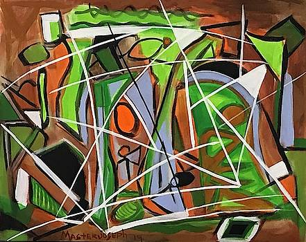 Modern Abstract by Anthony Masterjoseph