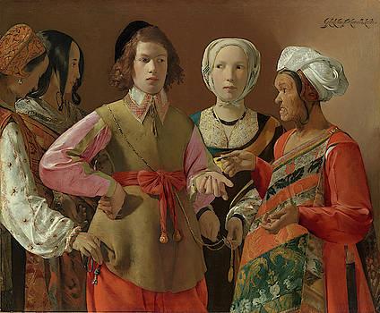 The Fortune-Teller by Georges de La Tour