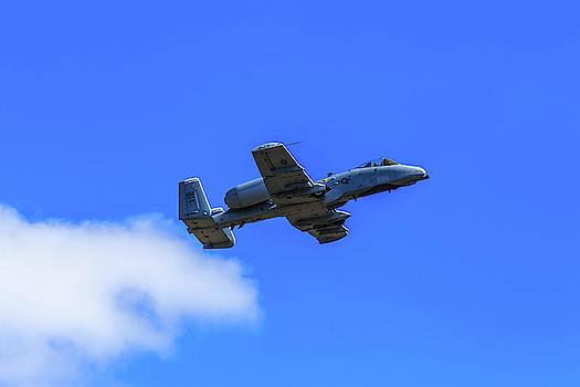 A-10C Thunderbolt II in Flight by Doug Camara