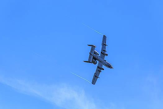 A-10C Thunderbolt II Turning by Doug Camara
