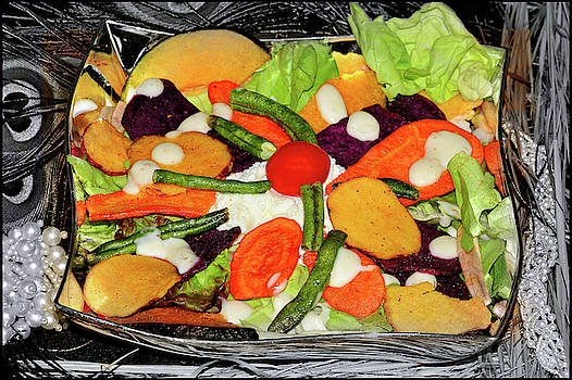 A Bowl Of Salad by Constance Lowery
