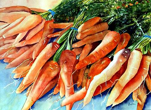 A Bunch of Carrots by Beth Fontenot