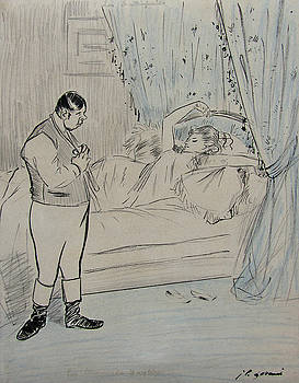 A Cheating Couple by Jean-Louis Forain