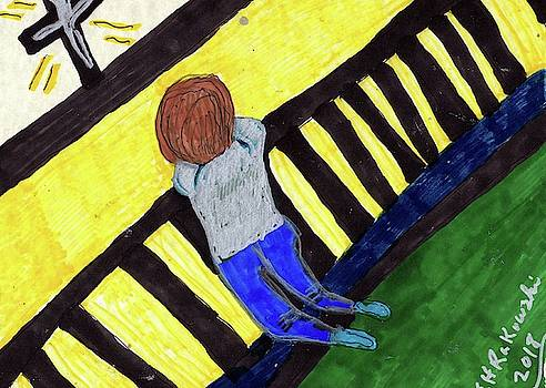 A Child At Prayer by Elinor Helen Rakowski