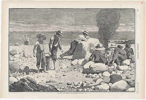 A Clam Bake by Winslow Homer