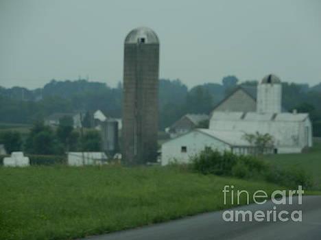Christine Clark - A Cloudy Amish Vista