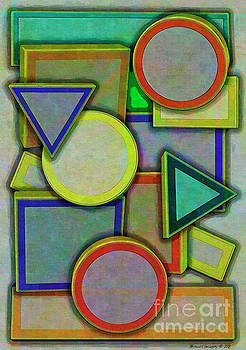 A Cubist Perspective No1 - AMCG20181213 by Michael Geraghty
