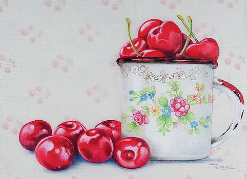 A Cup of Cherries by Teresa Frazier