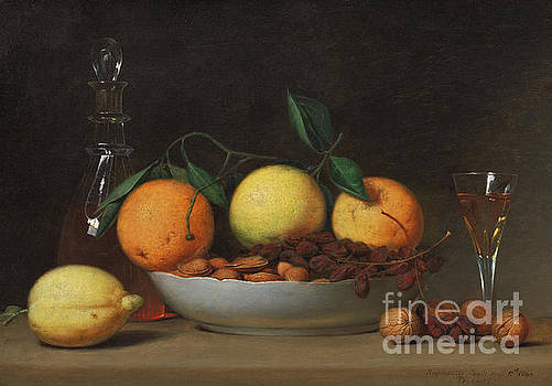 Raphaelle Peale - A Dessert, 1814