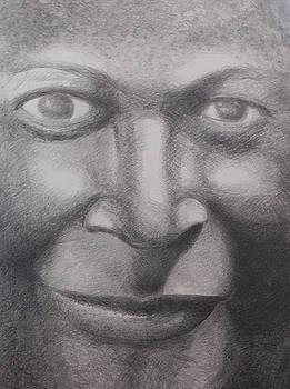 A Face  by Steve Mayo