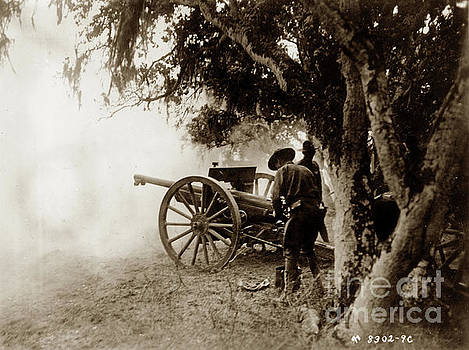 California Views Archives Mr Pat Hathaway Archives - A French  75mm Gun use by the 76th Field Arttilery, United State