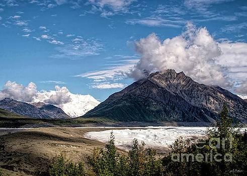 A Glacier Walk by Jan Mulherin