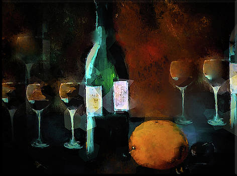 A Glass Of Wine Or Two Or Three by Lisa Kaiser