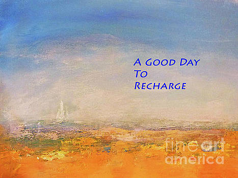 Sharon Williams Eng - A Good Day to Recharge Poster