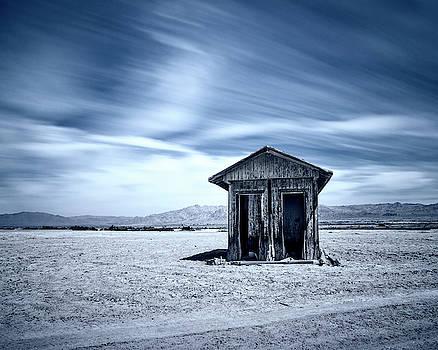 A Hut On The Desert by Nazeem Sheik