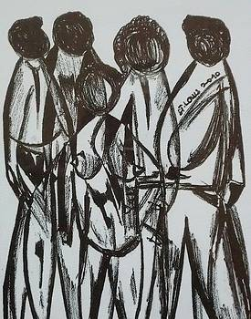 A Lady Among Them  by Edward Kofi Louis