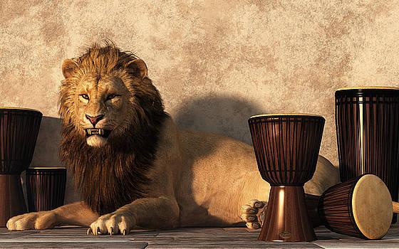 A Lion Among Drums by Daniel Eskridge