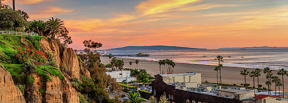 A Nice Evening In The Park - Panorama by Gene Parks