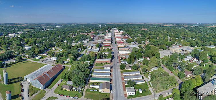 A Panorama of Nebraska City, Nebraska by Mark Dahmke