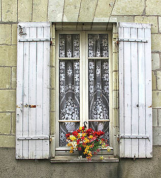 A Paris Window by Dave Mills