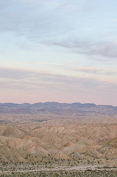 A Peaceful Desert Night No.1 by Margaret Pitcher