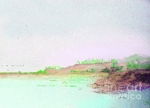 Sharon Williams Eng - A Quiet Beach Morning 300