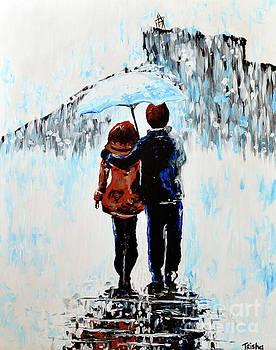 A Rainy Walk in Castle Rock by Trisha French