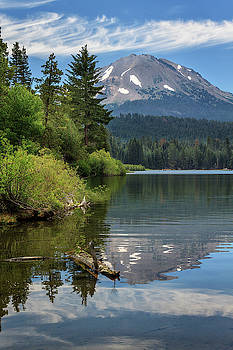 A Reflection Of Mount Lassen by James Eddy