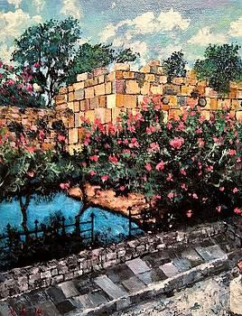 A Roman wall by Ray Khalife