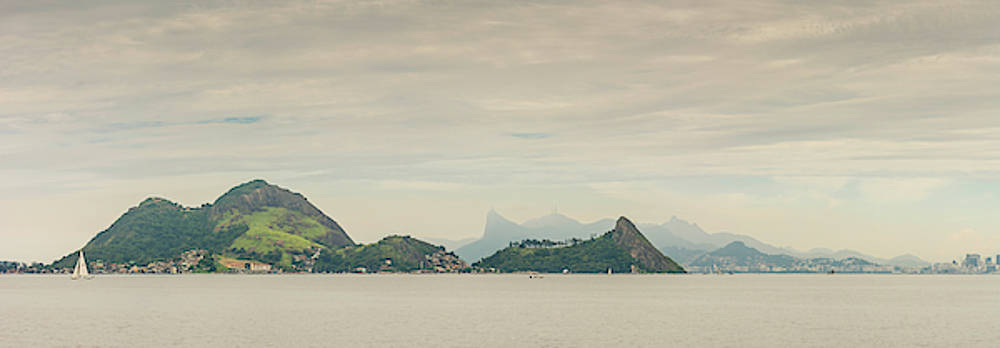 A small group of islands just off the coast of Rio de Janeiro, Brazil by Ryan Hoel