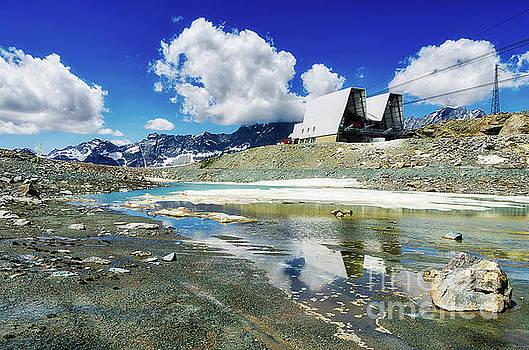 Small Stream at the foot of Cervino - Alps - North Italy  by Marina Zanotti