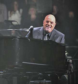 A smiling Billy Joel by Alan Goldberg
