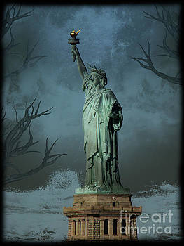 A Storm Rages Over Liberty by Al Bourassa