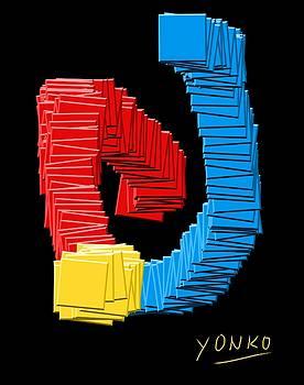 A study in C M Y K by Yonko Kuchera