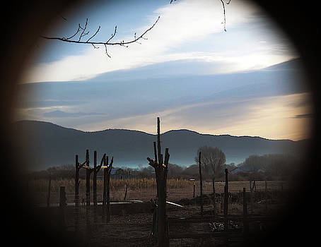 A Taos Ranchito Through the Looking Glass by Joe Schofield