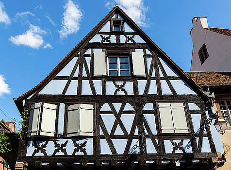 A Traditional House In Alsace - 4 - France by Paul MAURICE